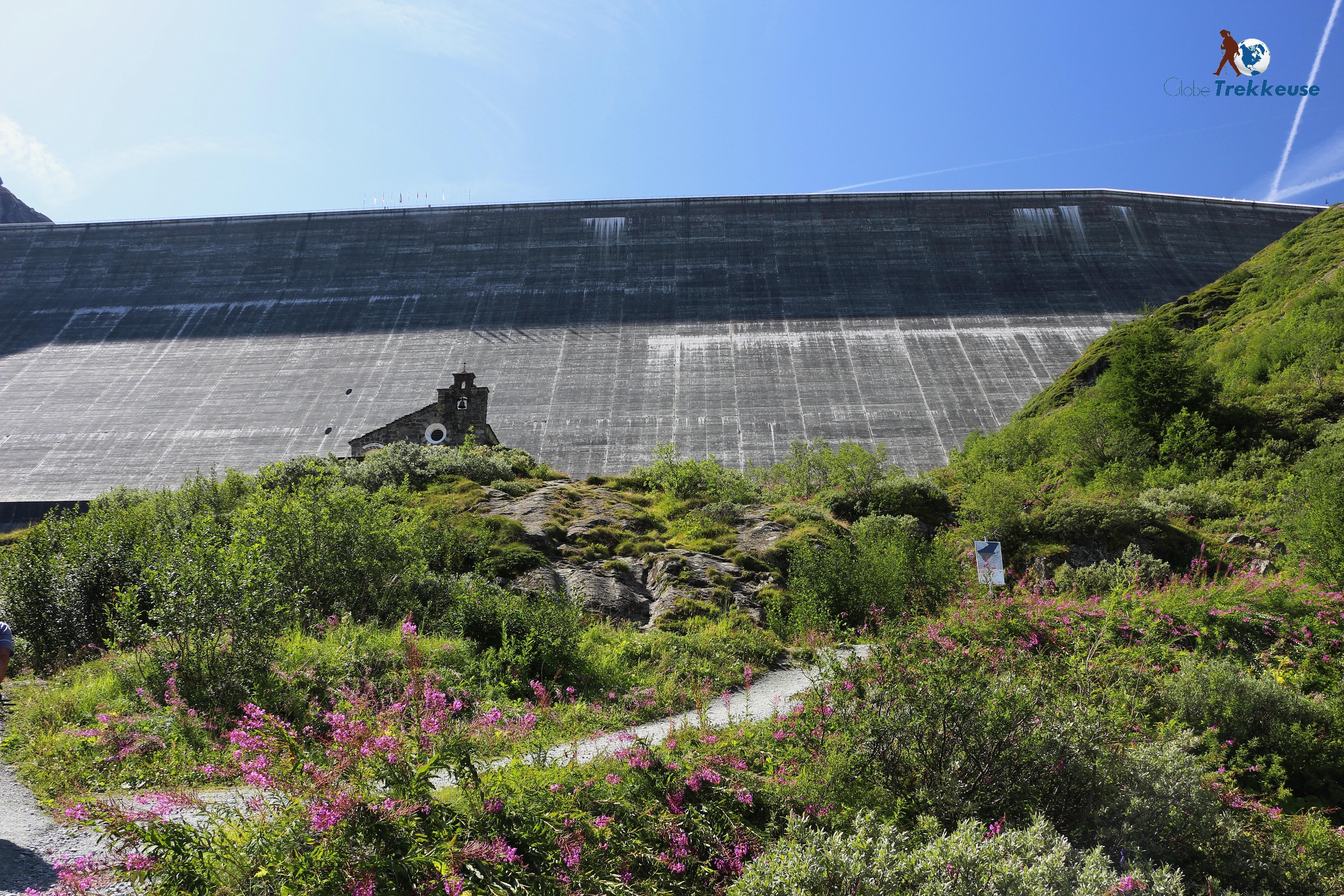 4 Vallees grande dixence barrage