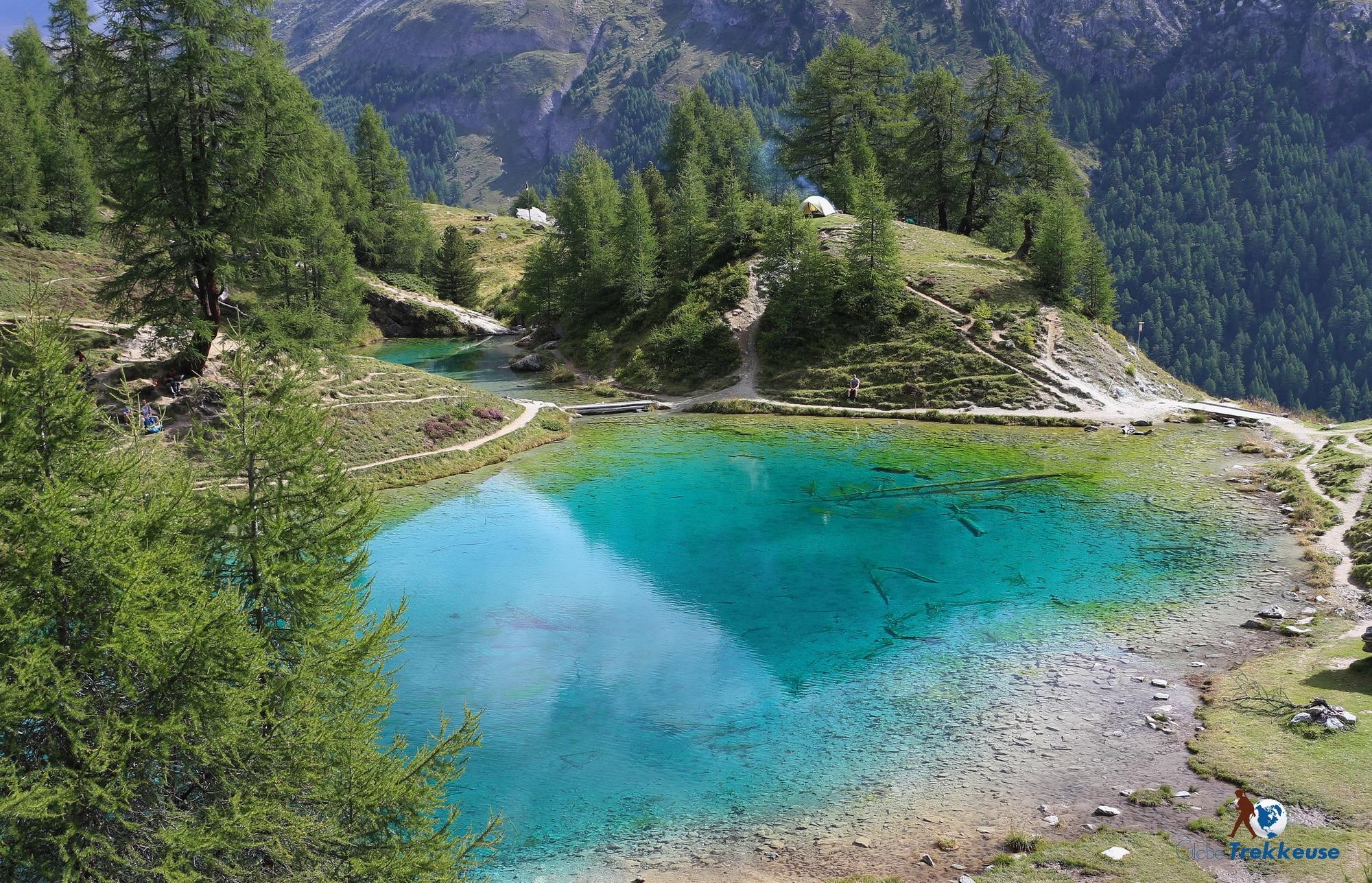 val dherens randonnee lac bleu