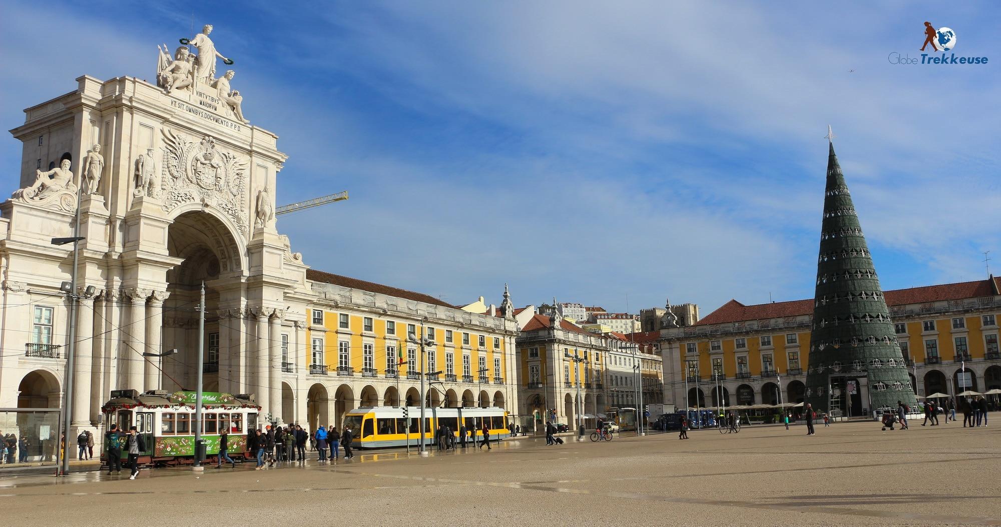 3 jours à Lisbonne place commerce