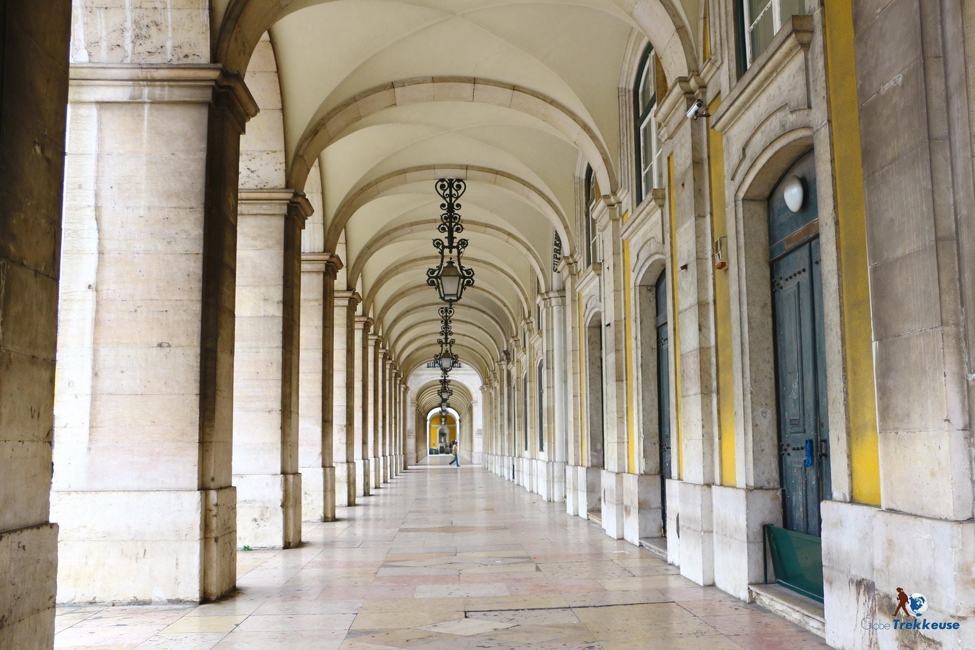 3 jours Lisbonne place du commerce