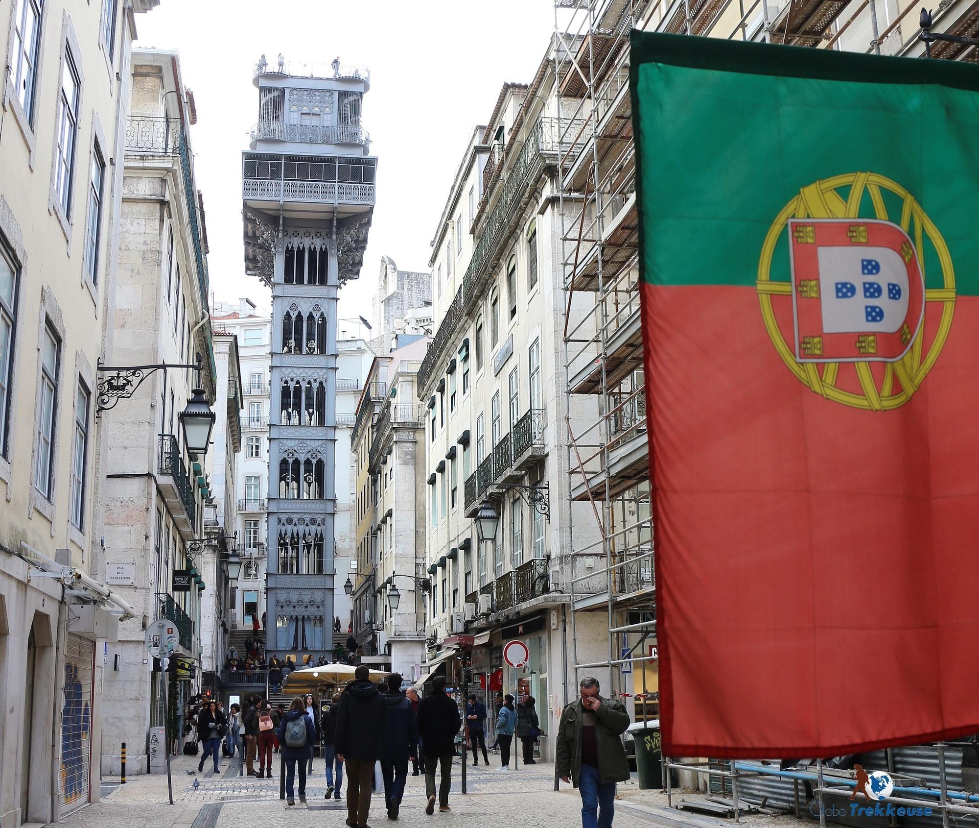 3 jours Lisbonne santa justa