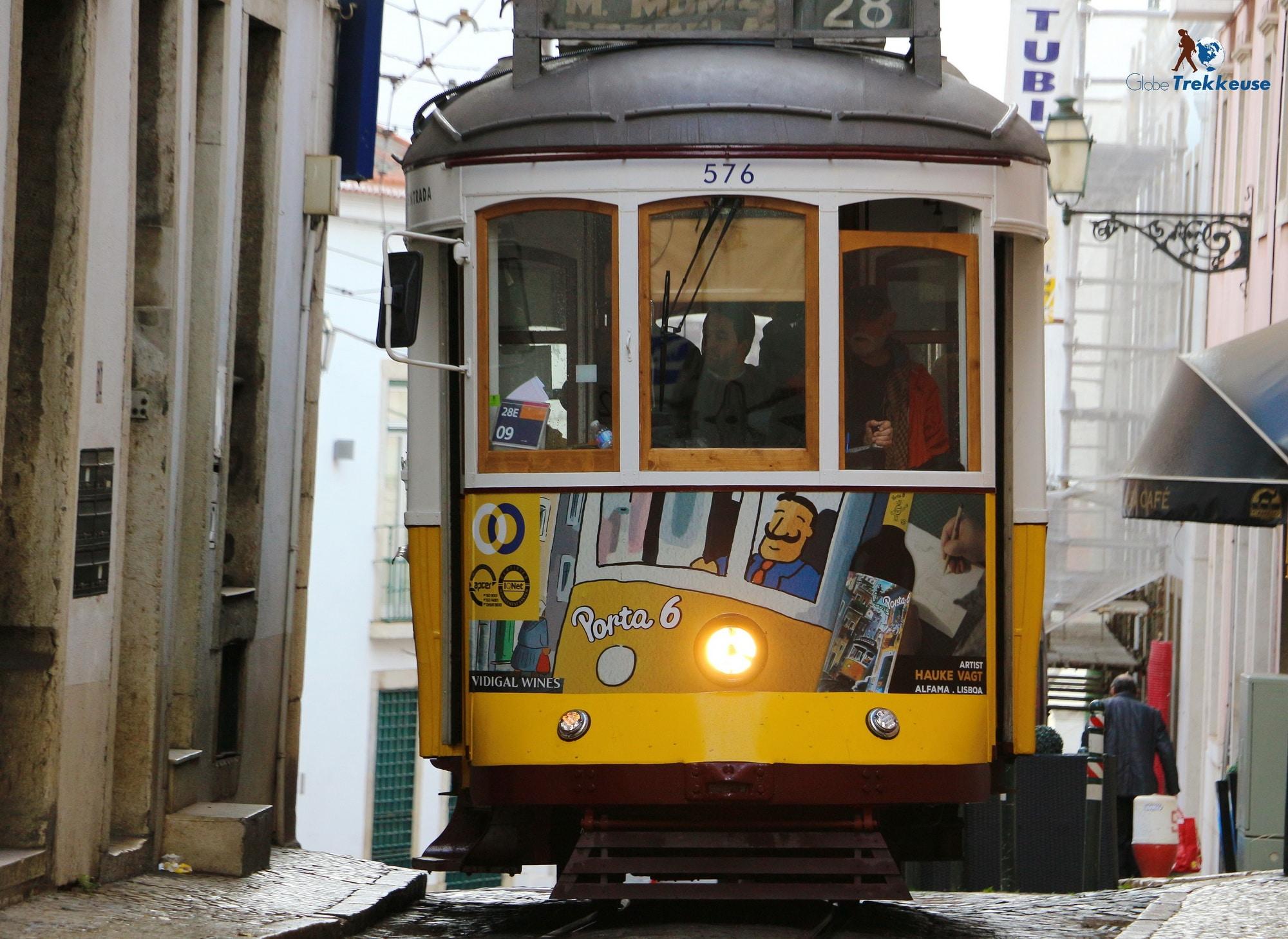 3 jours Lisbonne tram 28