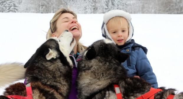 Le Jura en famille l'hiver, petit massif aux allures de Grand Nord !