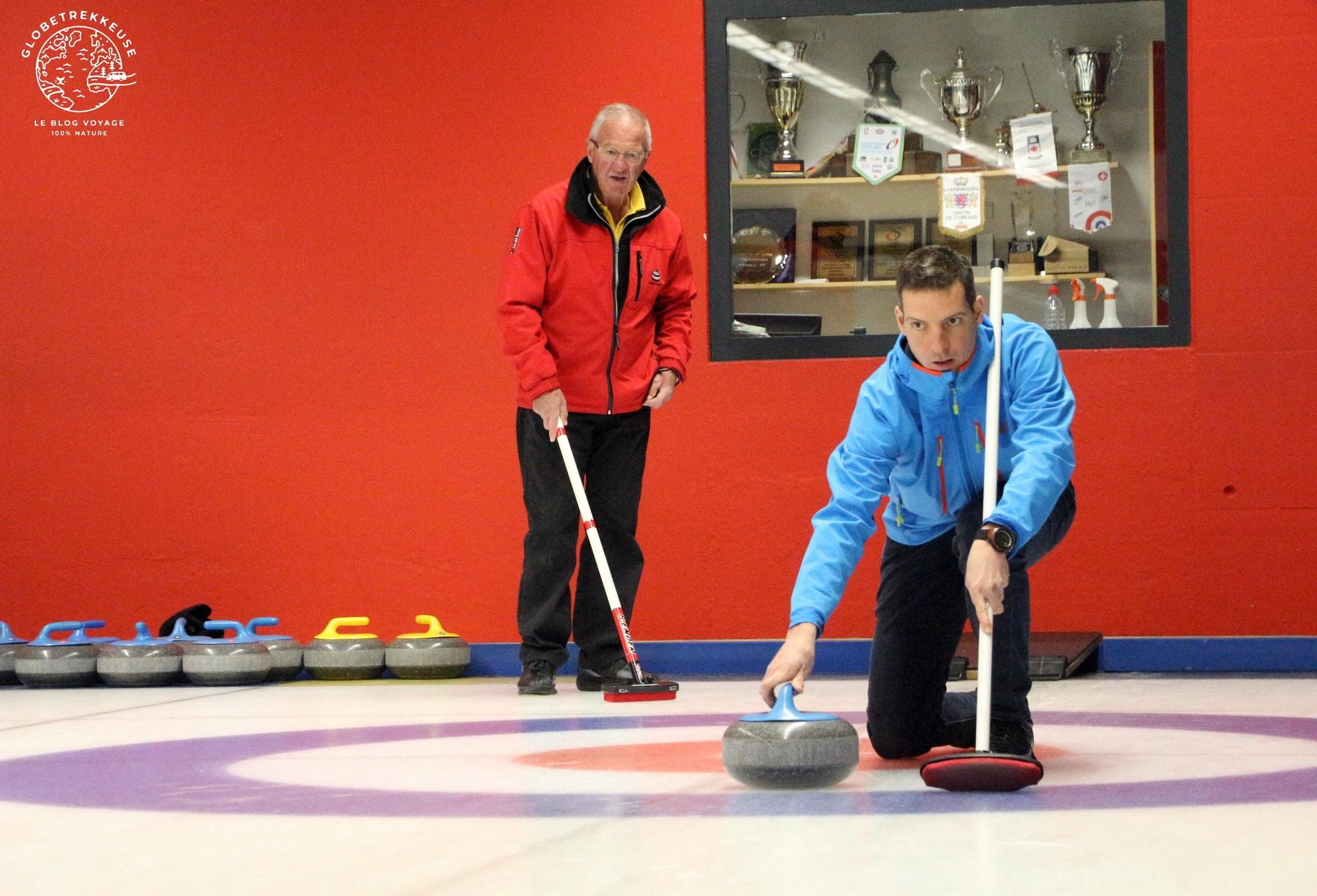 hiver en suisse champery curling