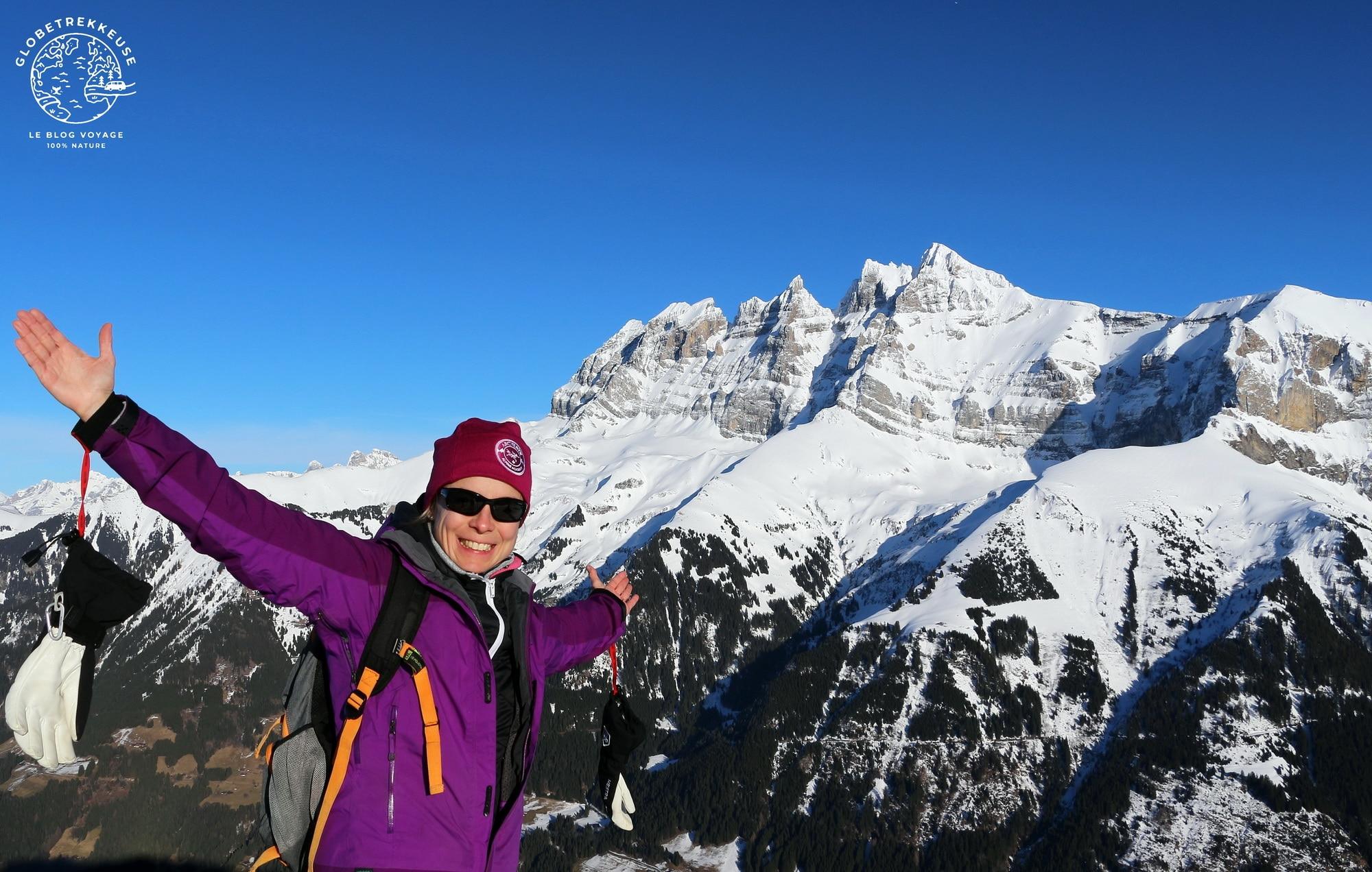 hiver en suisse midi lobetrekkeuse