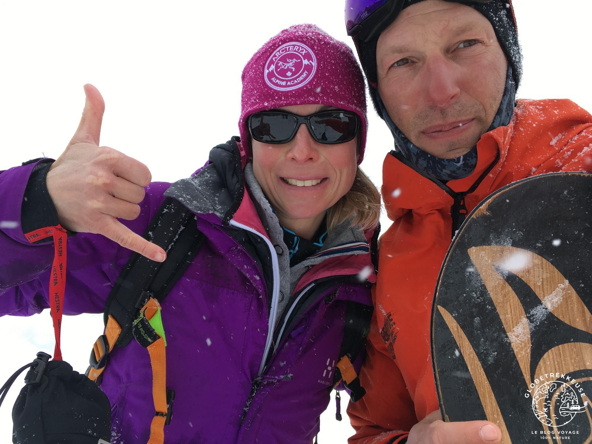 hiver en suisse snowboard champery