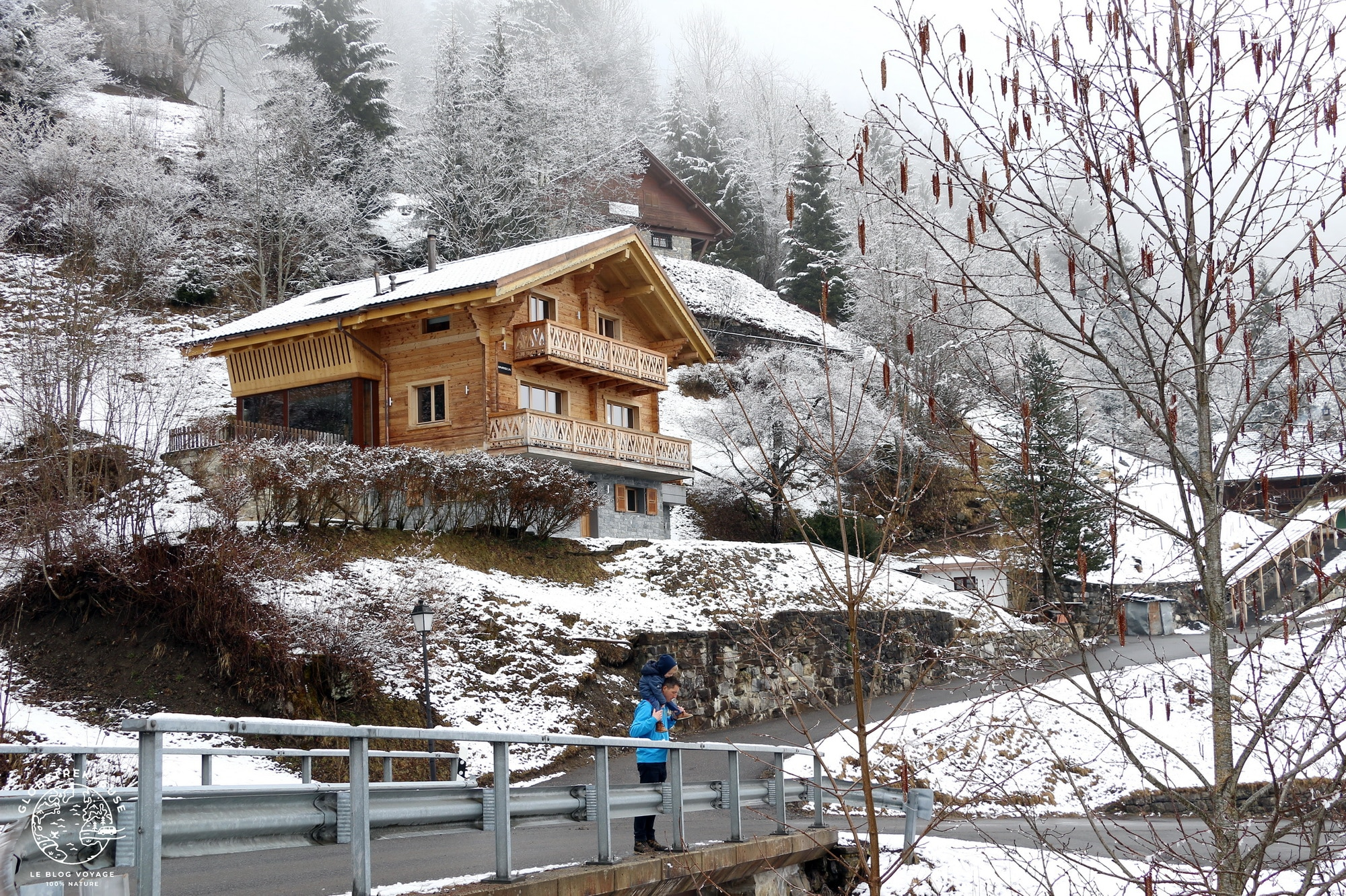 hiver suisse champery village