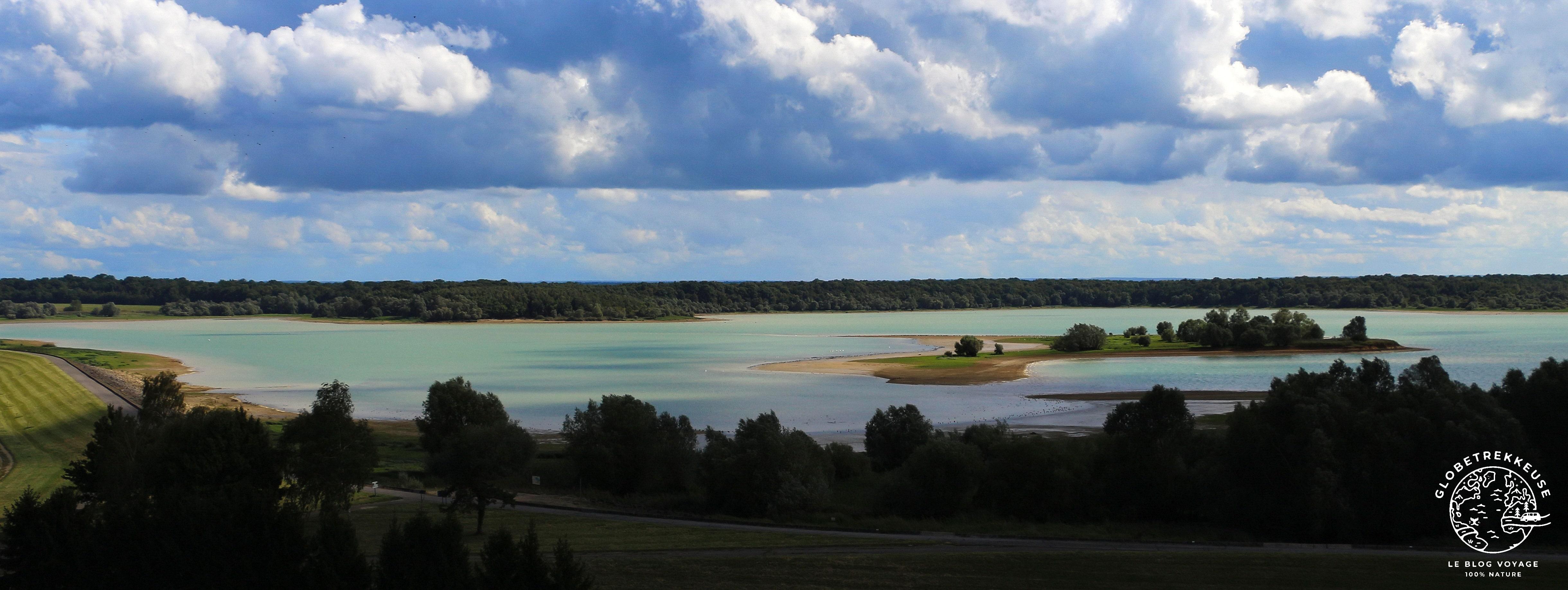 lac du der paysage septembre