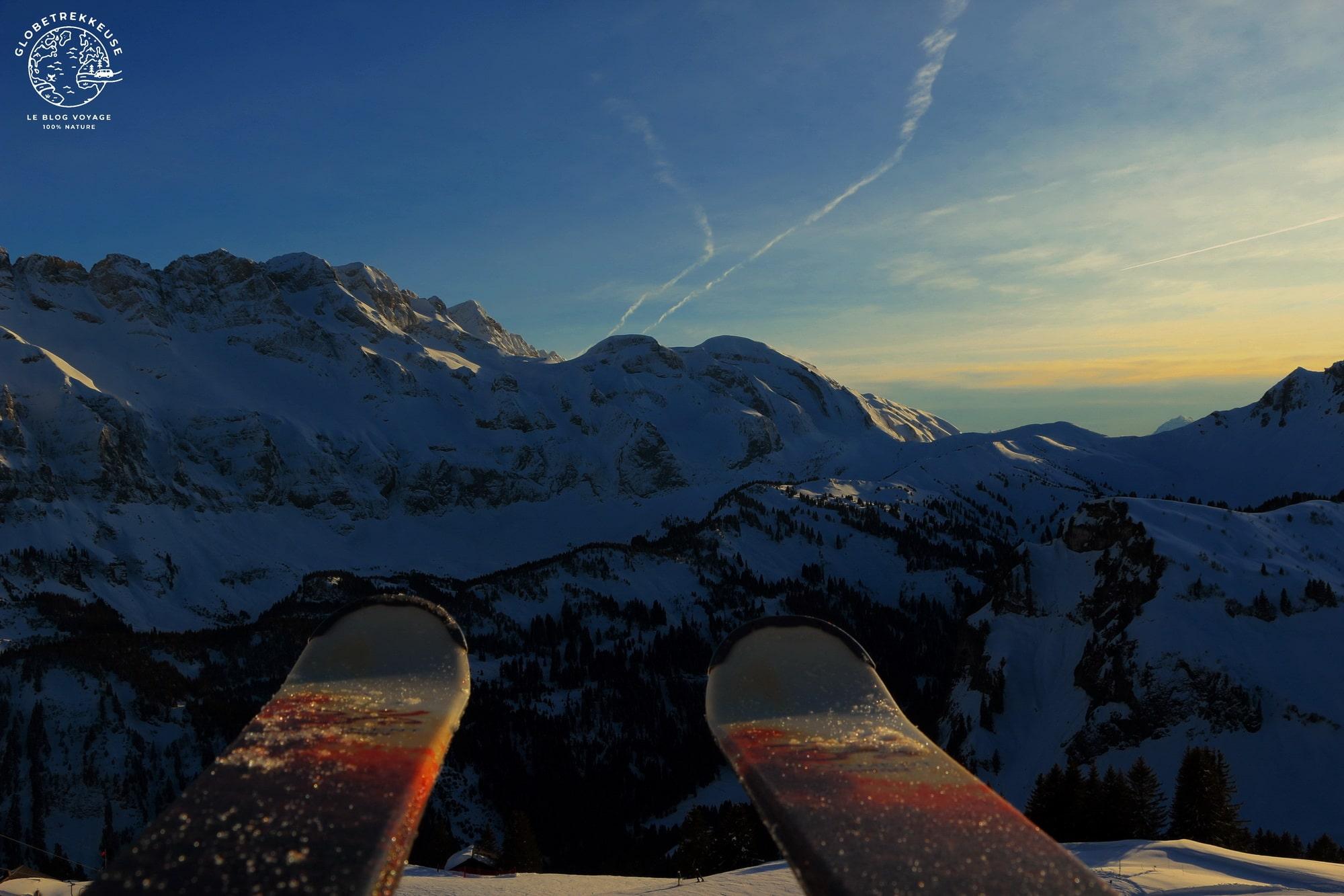 petzl actik core ski nocturne