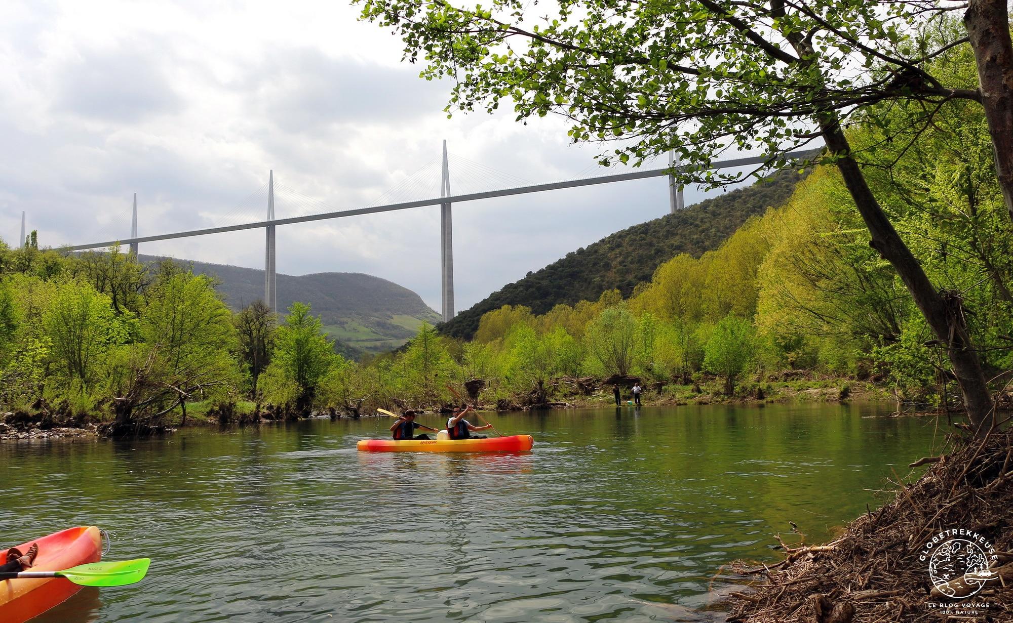 que faire en aveyron canoe