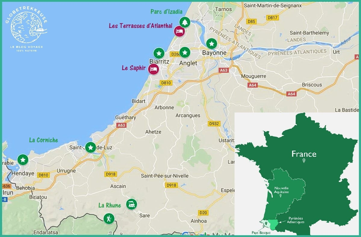 3 jours au pays basque itineraire
