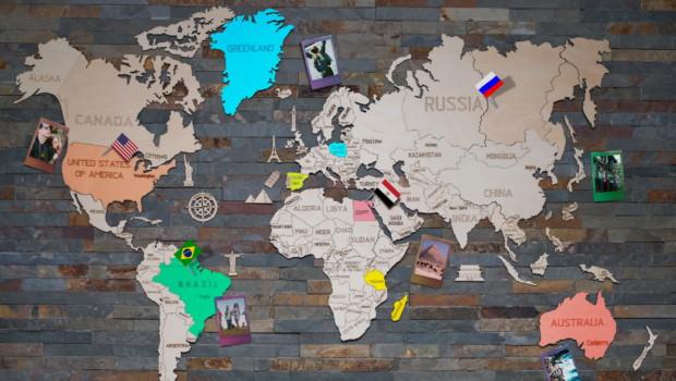 Carte du monde à offrir : 6 modèles testés et approuvés !