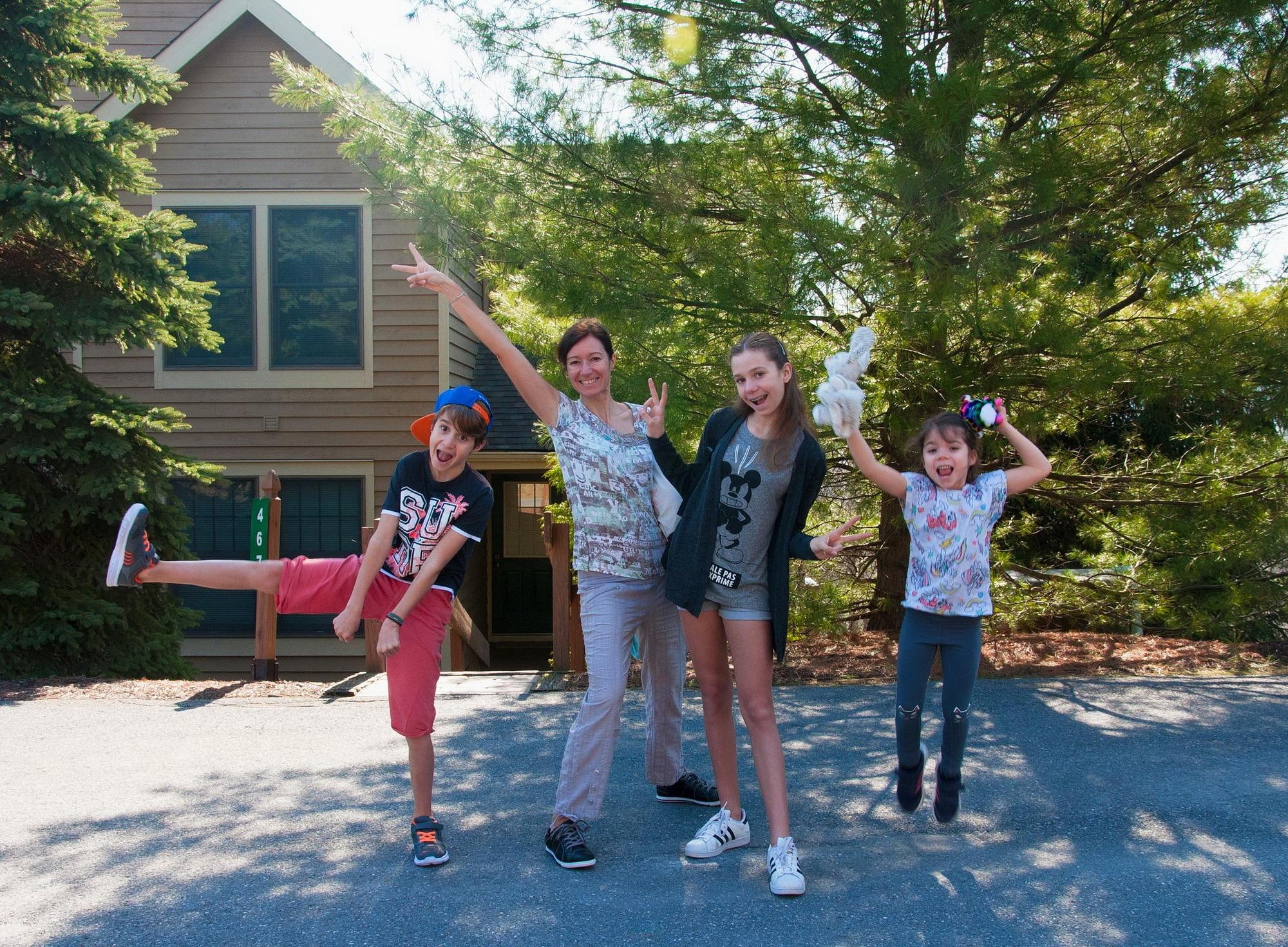 expatries aux usa famille