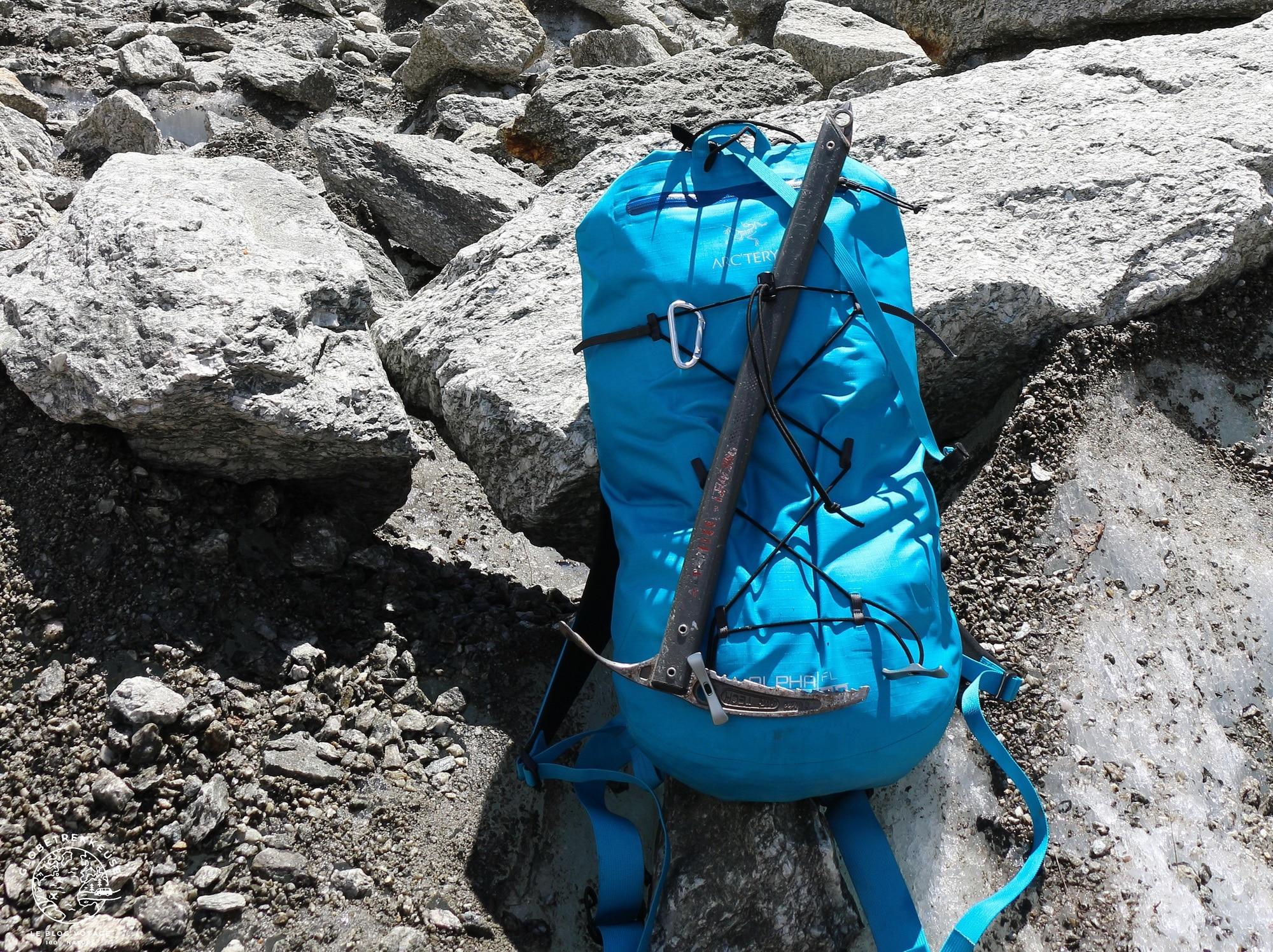 sac a dos arcteryx alpha alpinisme