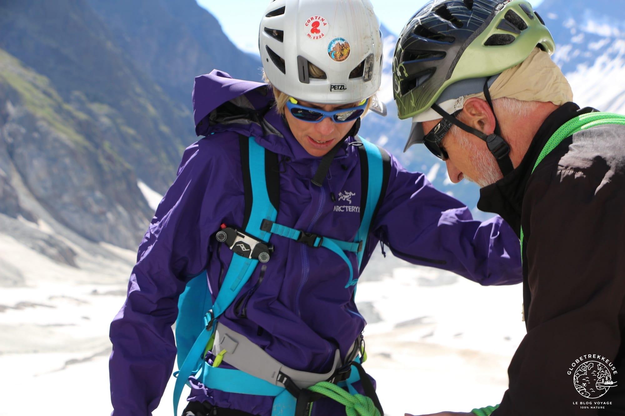 veste arc'teryx beta femme alpinisme