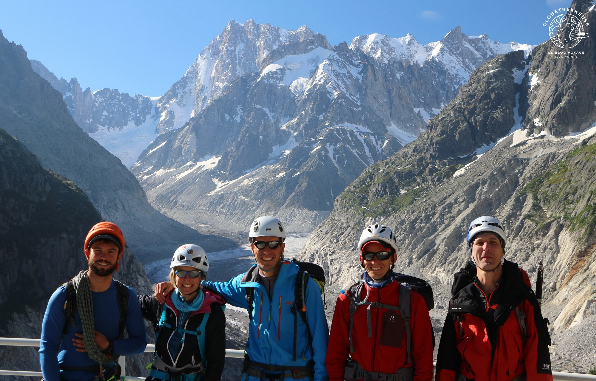ascension du mont blanc equipe
