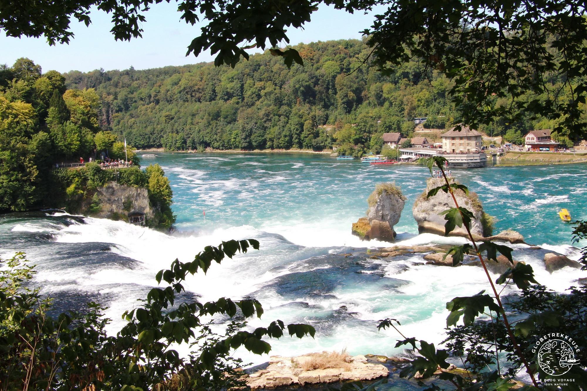 plus beaux paysages de suisse chutes du rhin