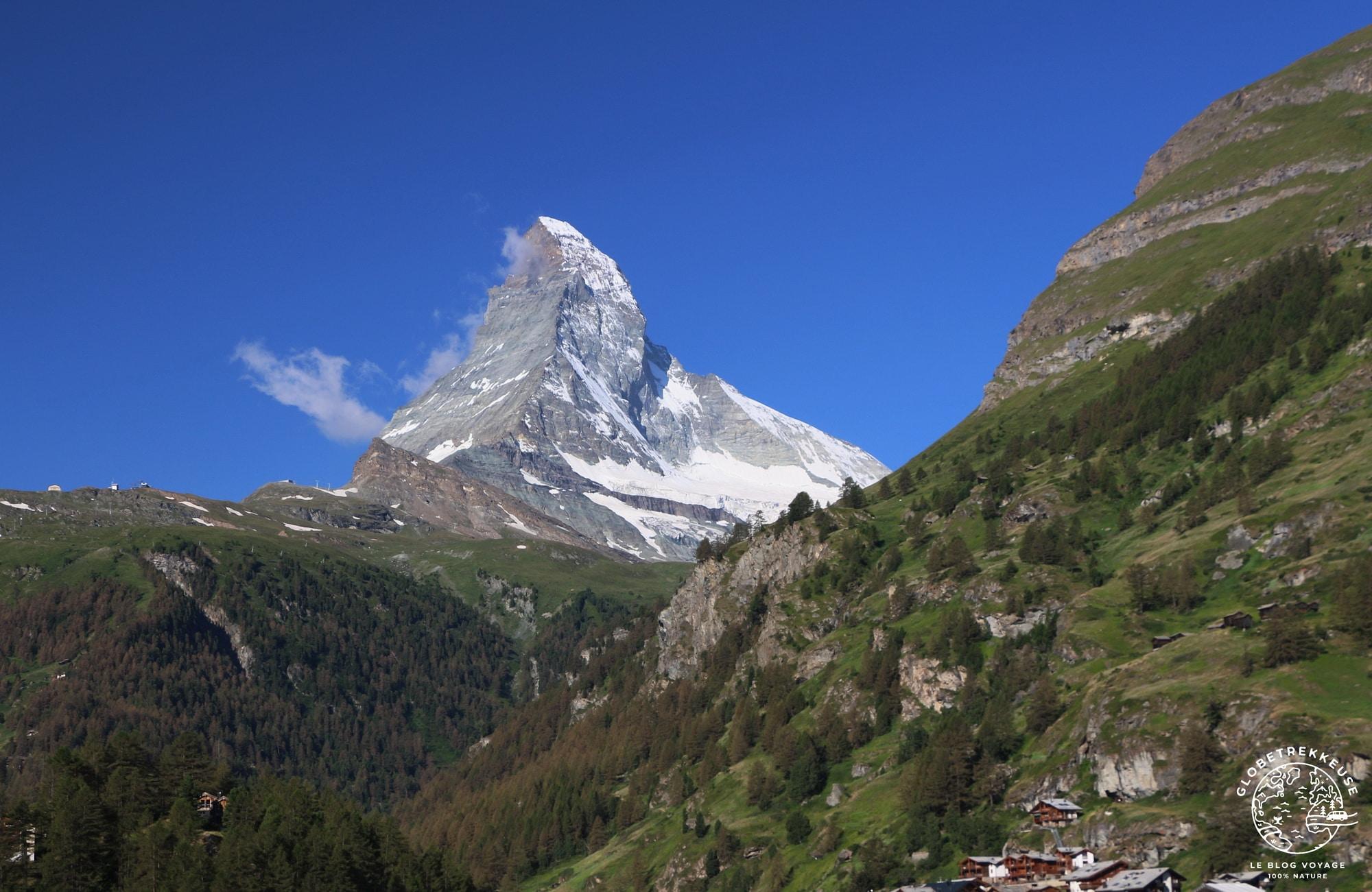 plus beaux paysages de suisse zermatt