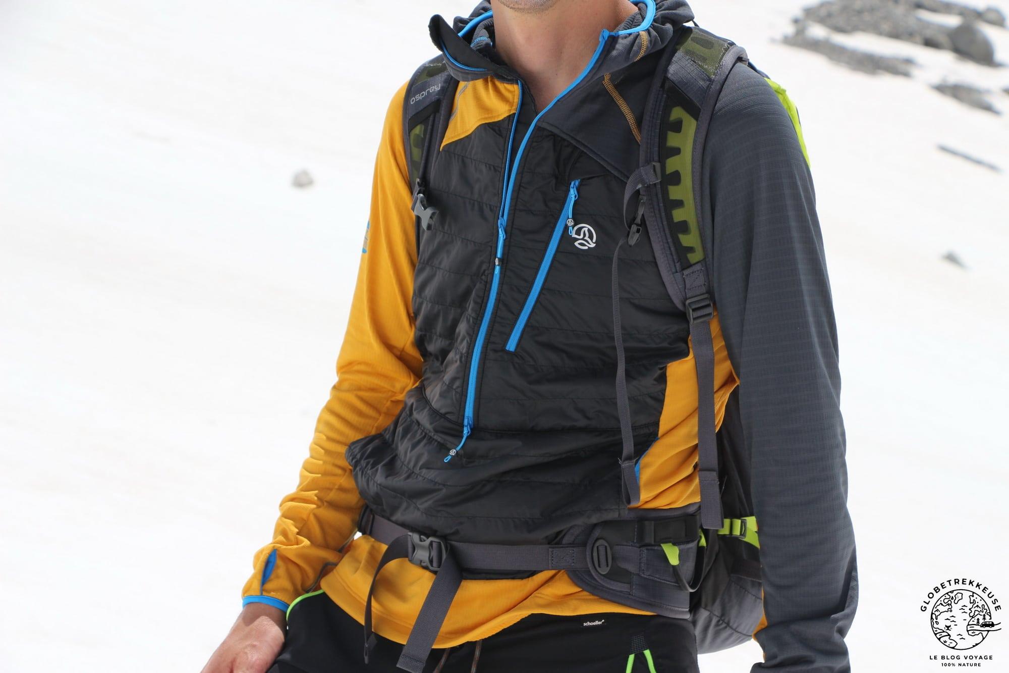 veste ternua aldamin alpinisme