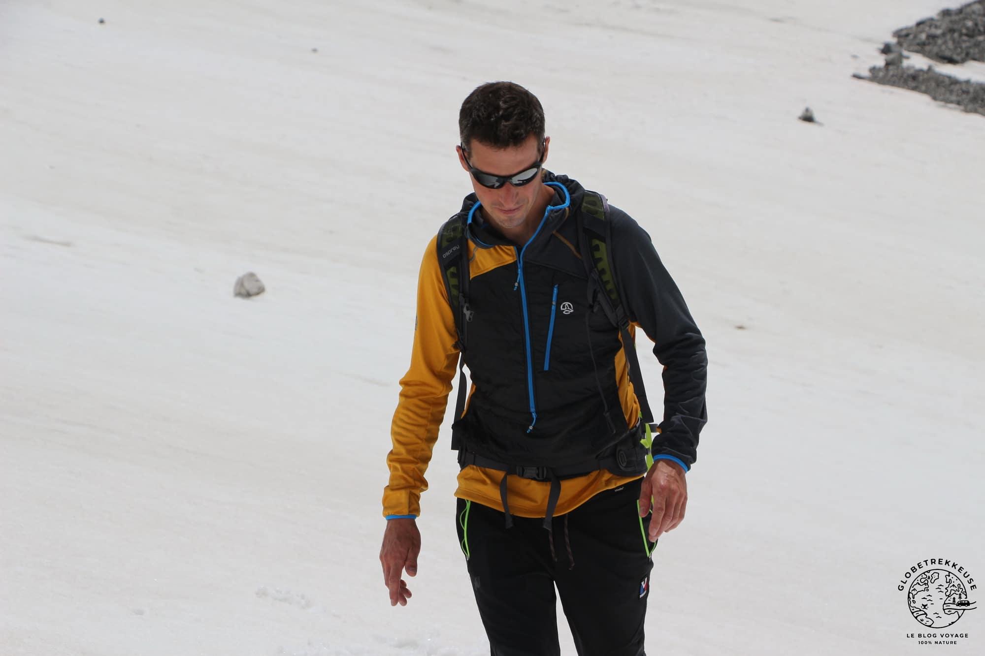 veste ternua alpinisme