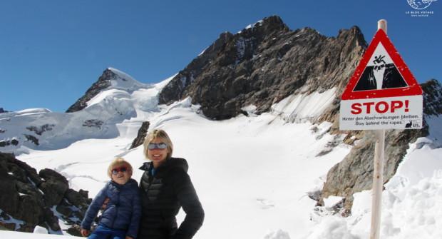 Jungfraujoch, embarquement immédiat pour le Toit de l'Europe (3454m) !
