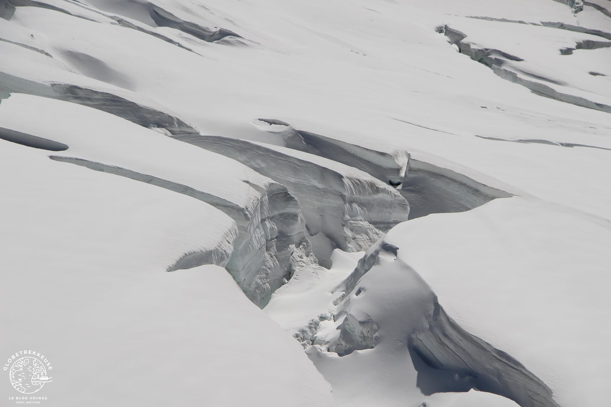 jungfraujoch toit europe glacier