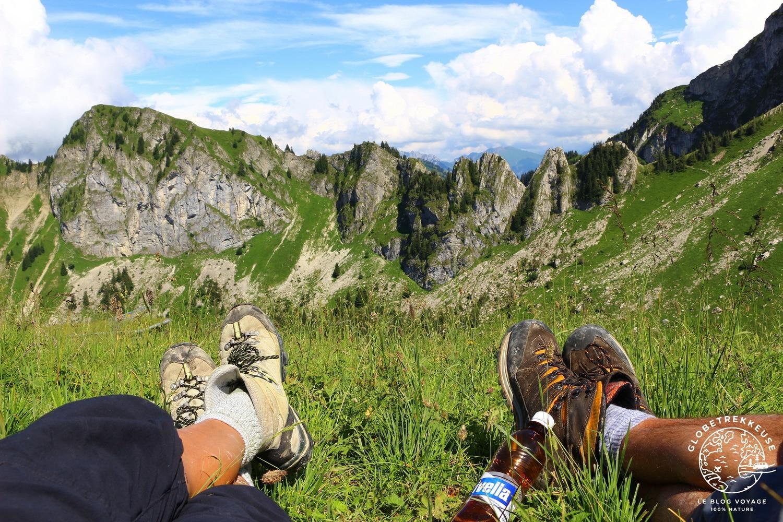 via-ferrata des rochers de naye suisse
