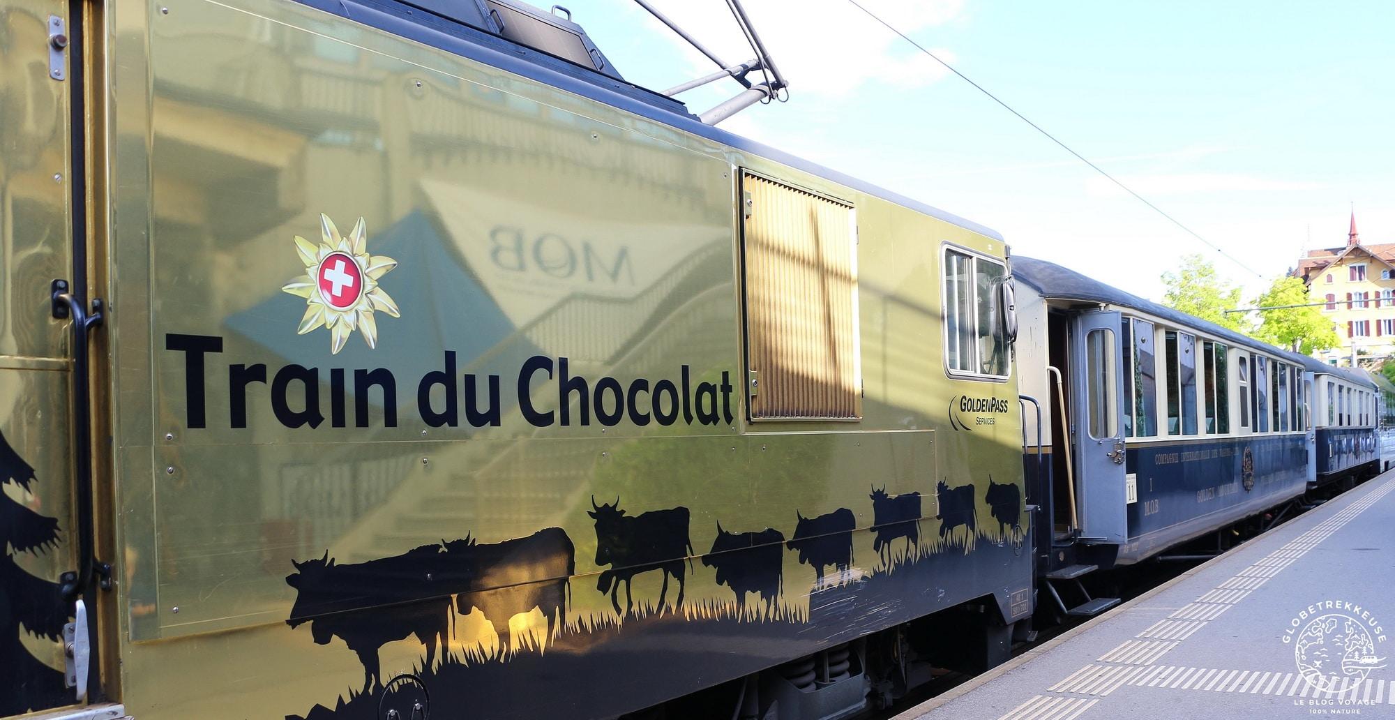 train du chocolat montreux suisse