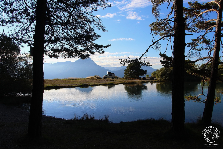 lac de Serre-Ponçon vanlife