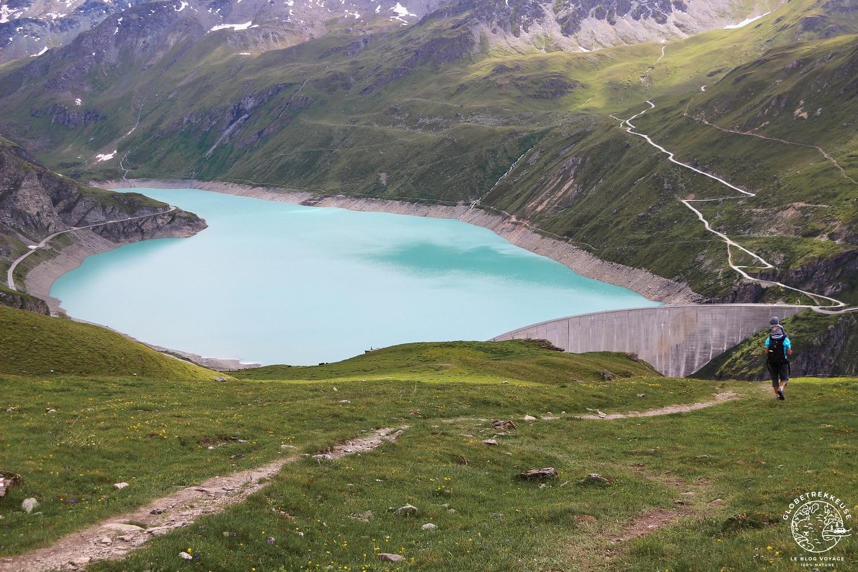 lac de moiry barrage grimentz