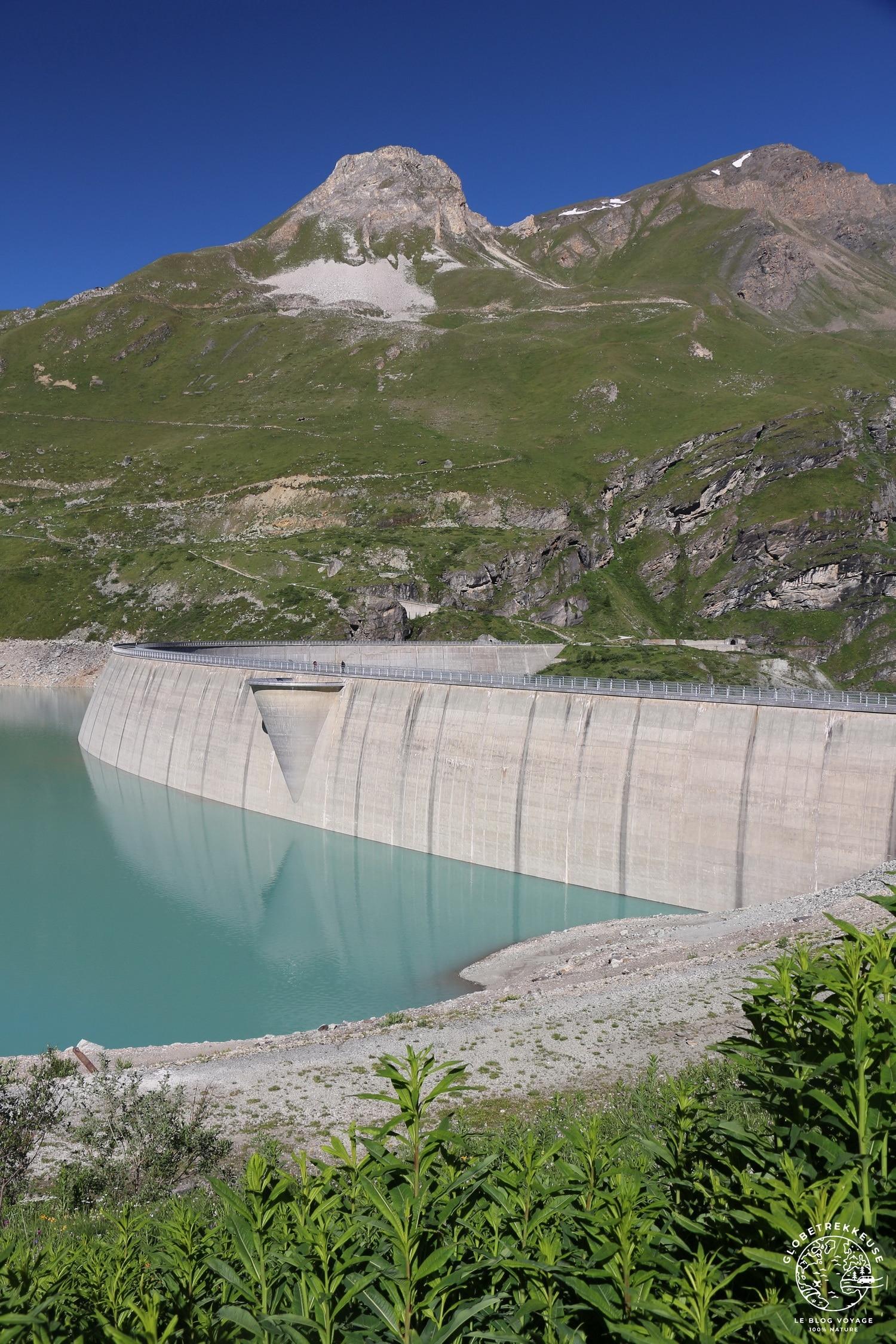 lac de moiry barrage