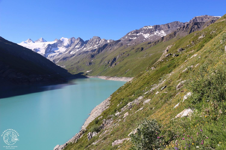lac de moiry valais paysage