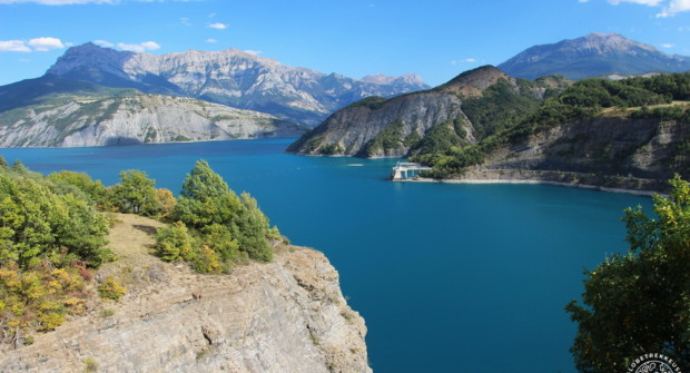 Lac de Serre-Ponçon, week-end nature en famille (vanlife)