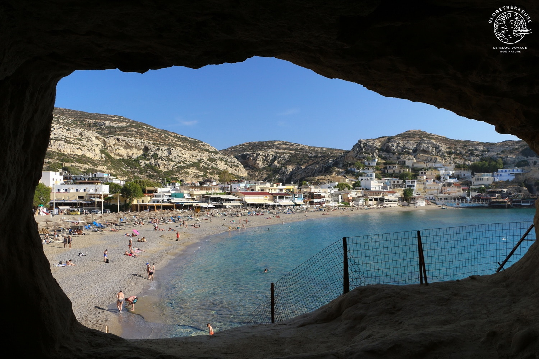 voyage en crete grotte matala