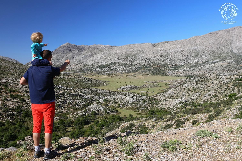 voyage en crete plateau de nida