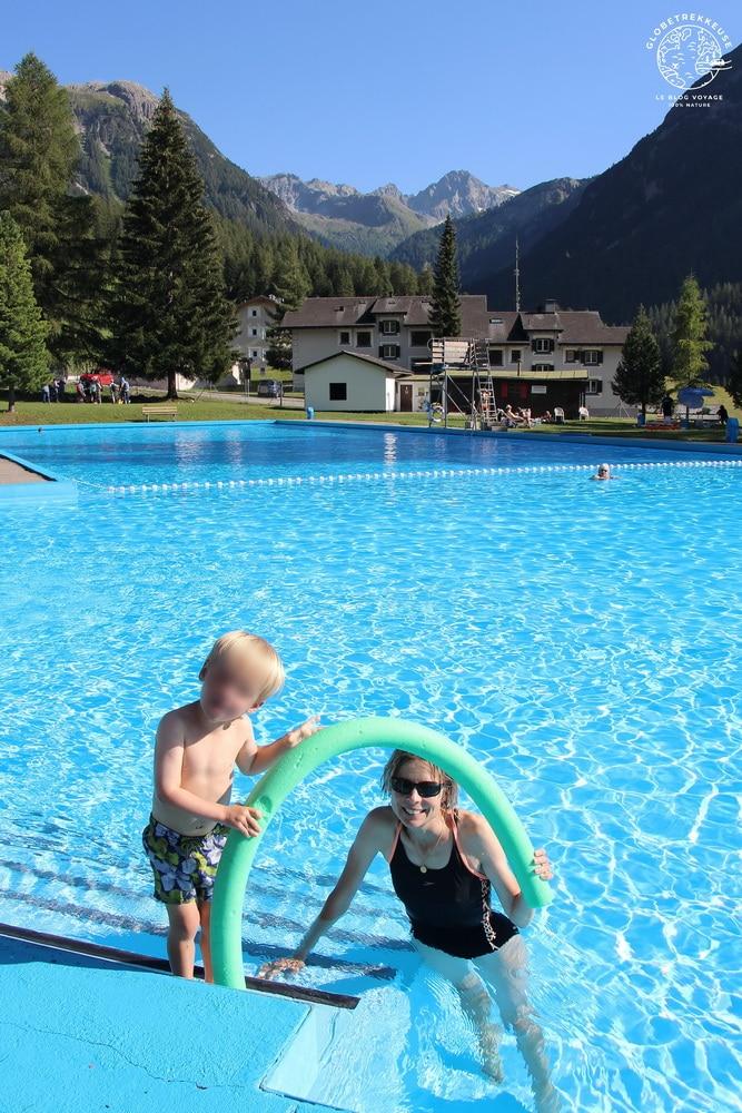 canton des grisons bergun piscine