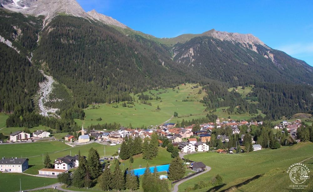 canton des grisons suisse bergun