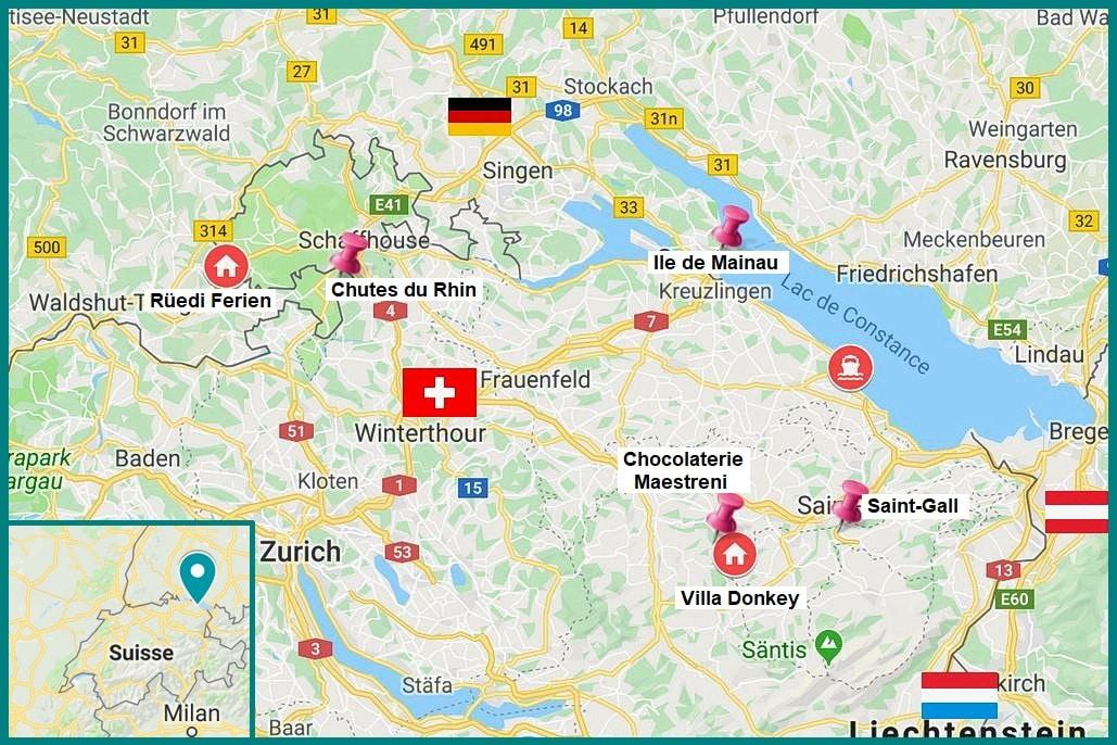 lac de constance suisse itineraire