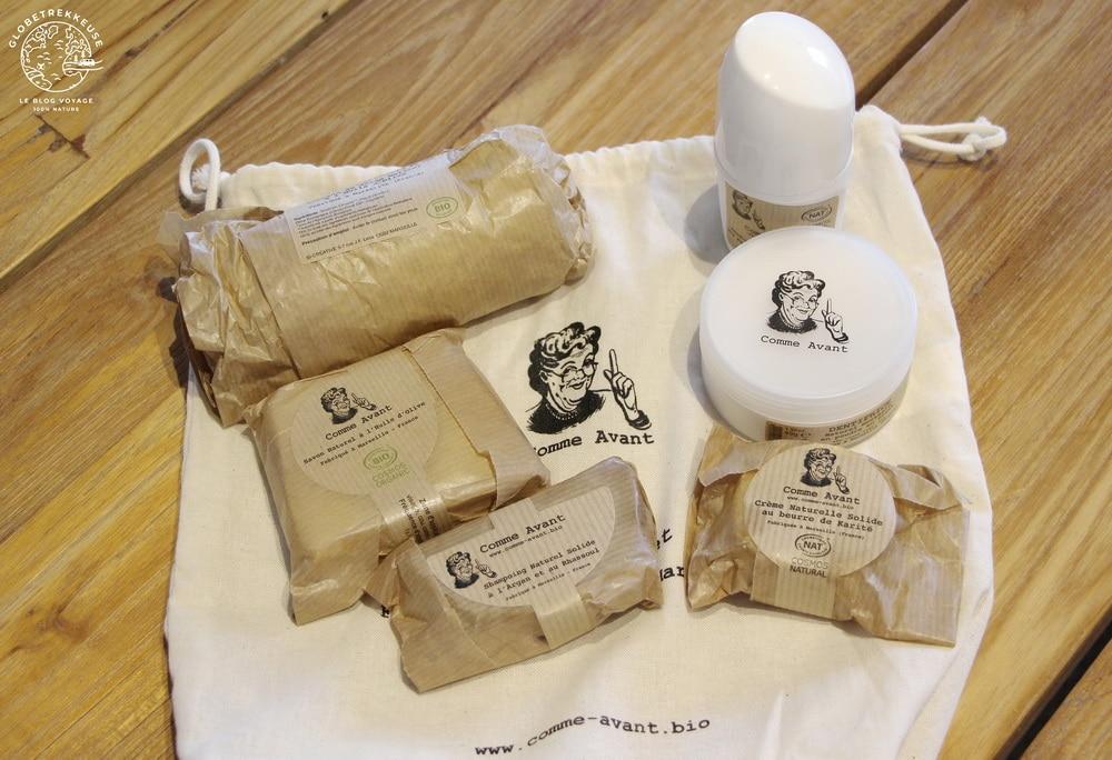 produits hygiene bio comme-avant