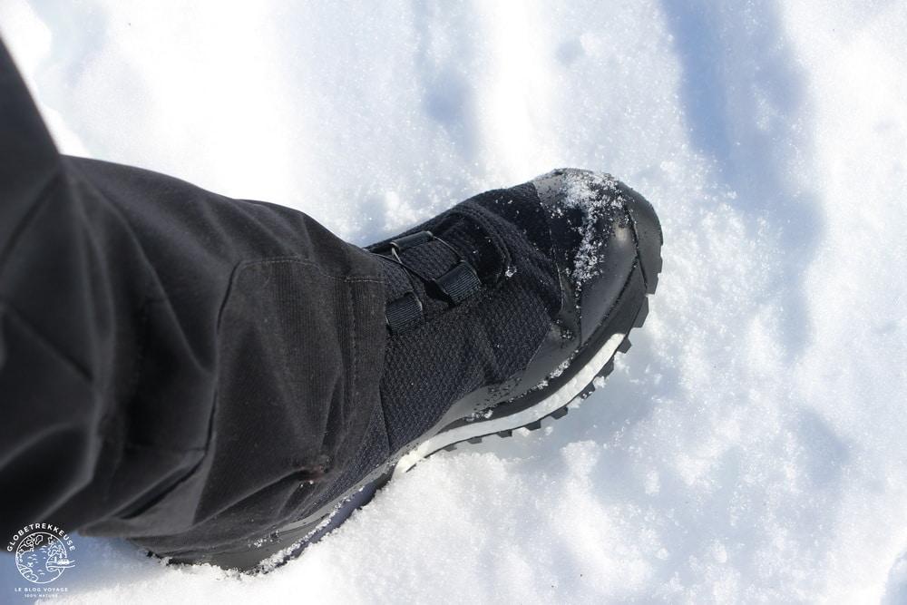 chaussures de randonnee hiver confort