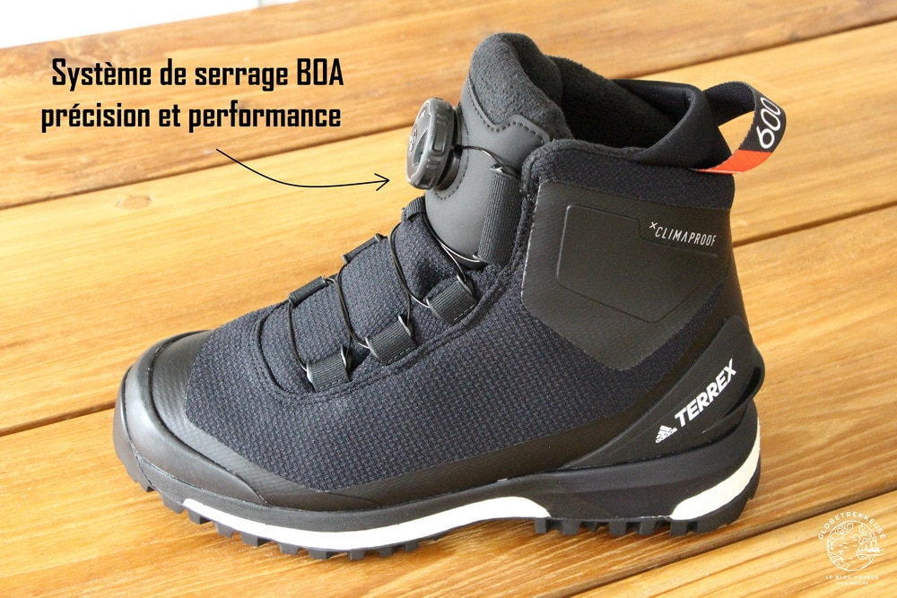 chaussures de randonnee systeme BOA