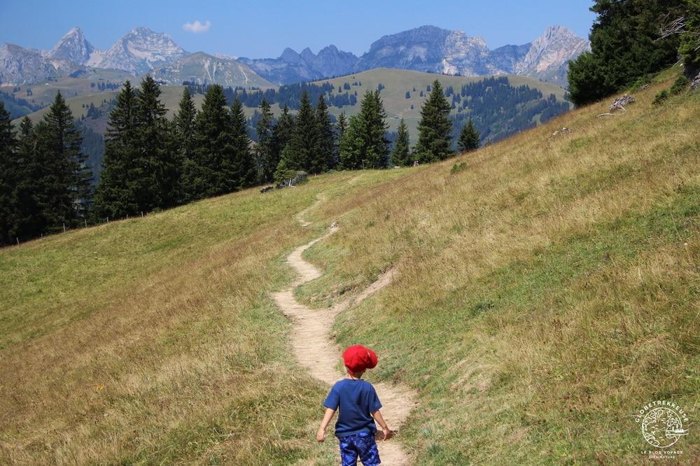 escapade a gstaad suisse randonnee