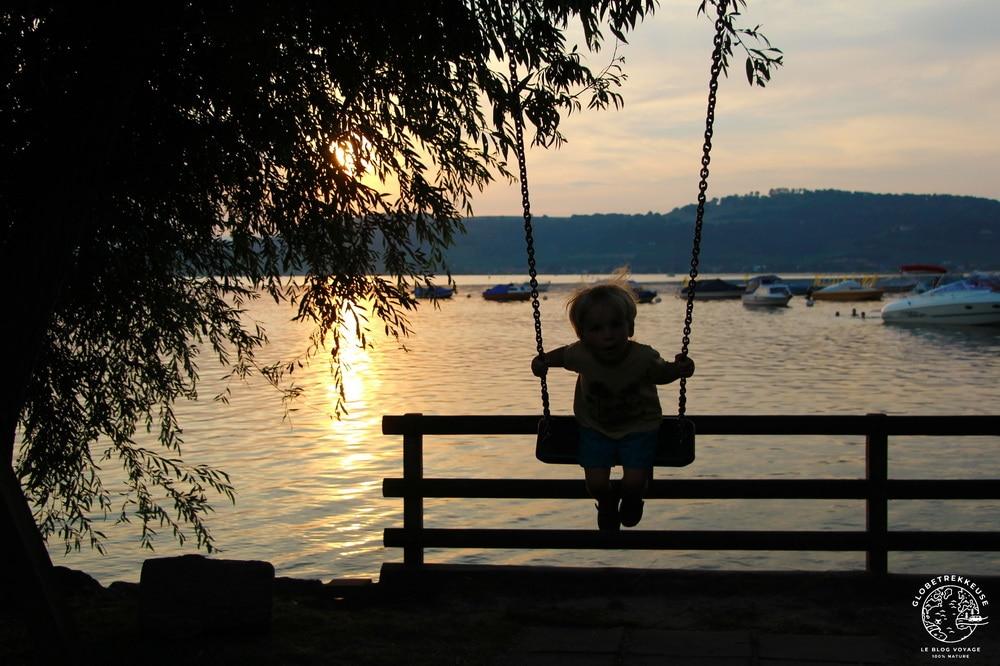 lac de morat suisse enfant