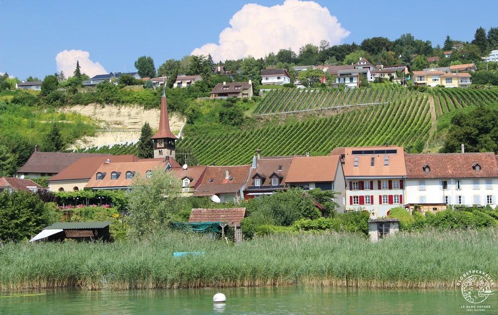 lac de morat suisse vully