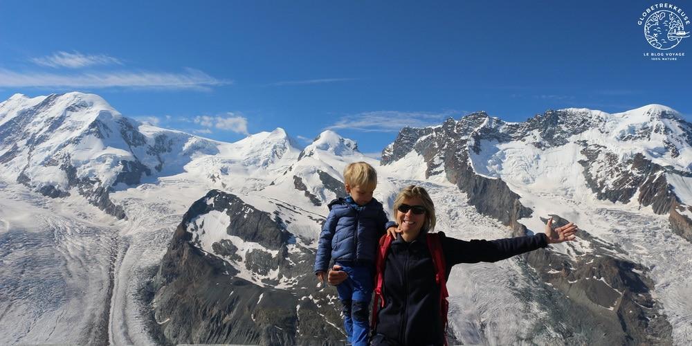 vacances en suisse avec enfant zermatt