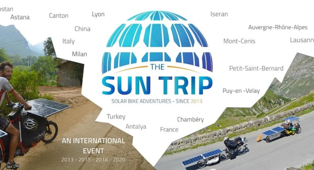 Sun Trip Tour :  1200 km à vélos solaires entre volcans et glaciers !