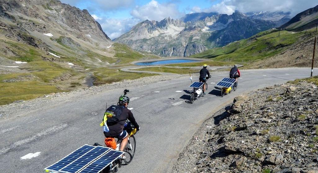 Sun Trip tour vélo solaire alpes
