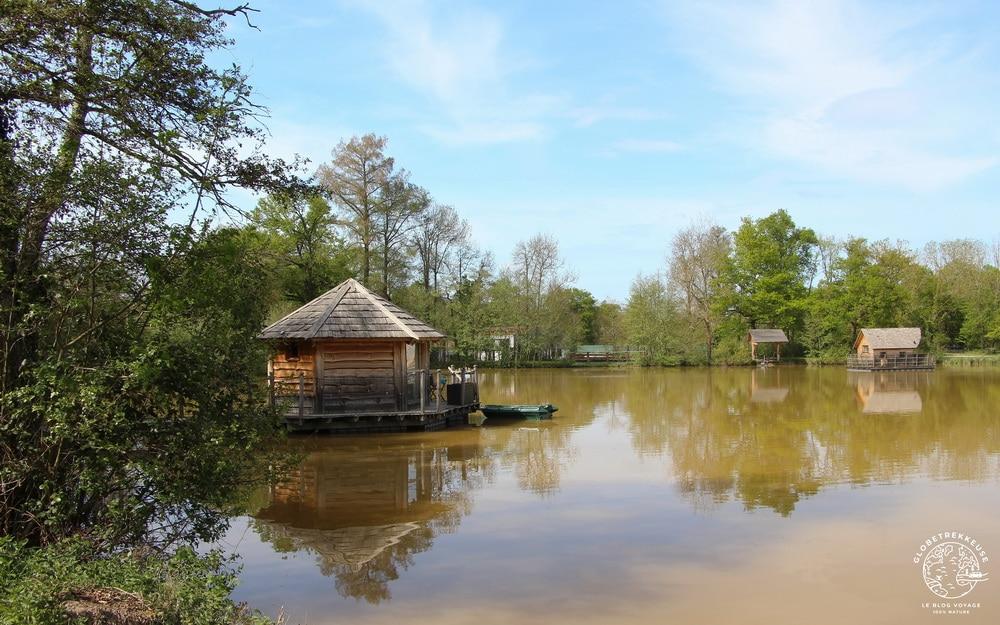 sejour insolite cabane flottante dombes