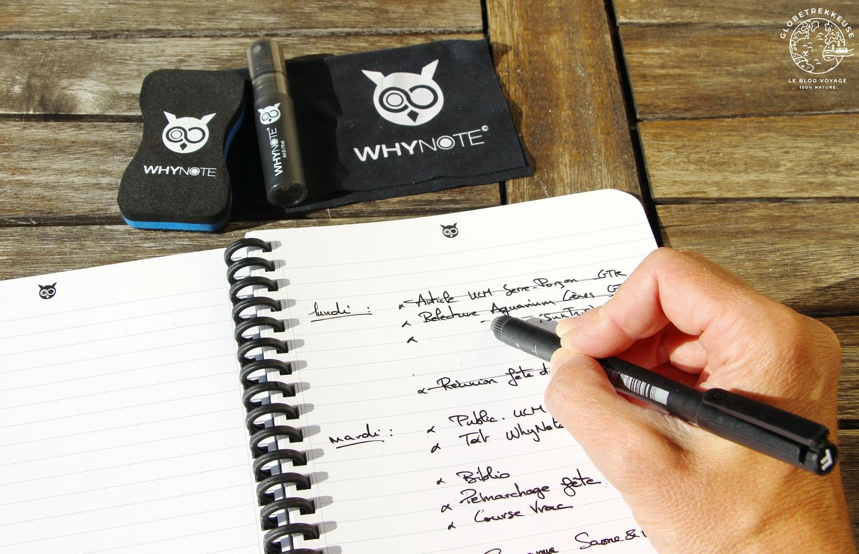 carnet de notes whynote ecologique