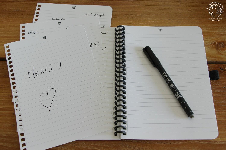 carnet notes whynote pratique